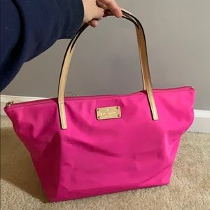 Pink Kate Spade small tote
